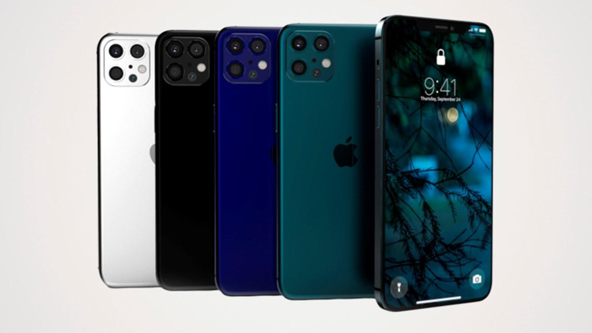 comparativo iphone 12